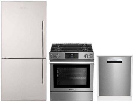 Blomberg 864566 Kitchen Appliance Package Stainless Steel, 1