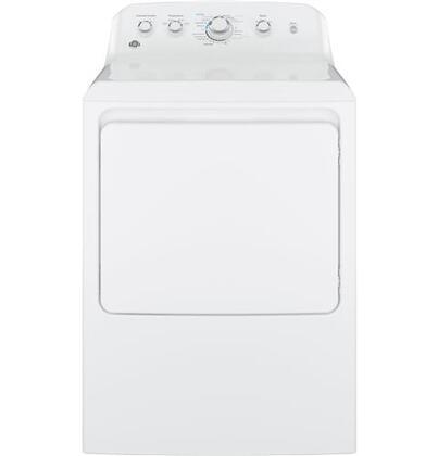 GE  GTX42GASJWW Gas Dryer White, Main Image