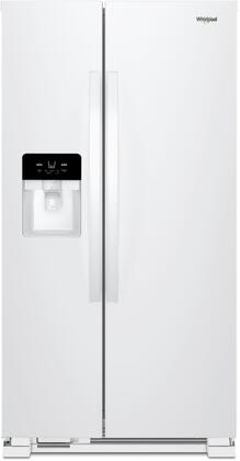 Whirlpool  WRS321SDHW Side-By-Side Refrigerator White, Main Image