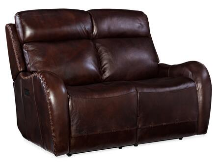 Hooker Furniture MS Series SS314P2088 Loveseat Brown, Silo Image