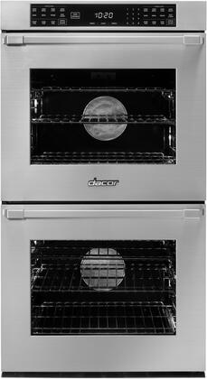 Dacor Heritage HWO227PS Double Wall Oven, Front View