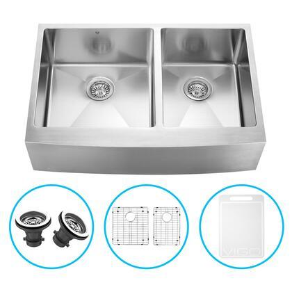 Vigo VGR3320BLK1 Sink, VGR3320BLK1