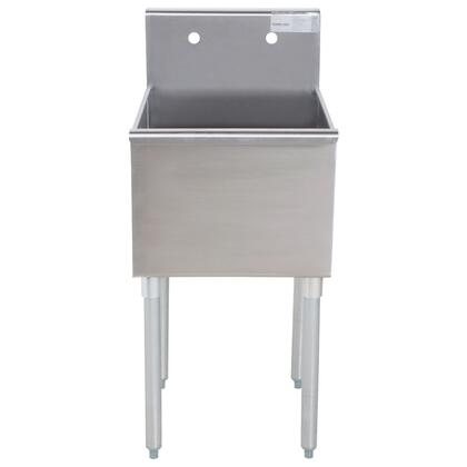 Advance Tabco Budget Line 400 4124 Commercial Sink Stainless Steel, 1 Compartment Main Image