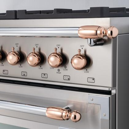 Bertazzoni DS1HERTPC Other Range Accessories, DS1HERTPC Polished Copper Decor Set