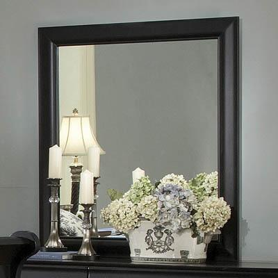 Myco Furniture Louis Philippe 6706MBK Mirror, 1