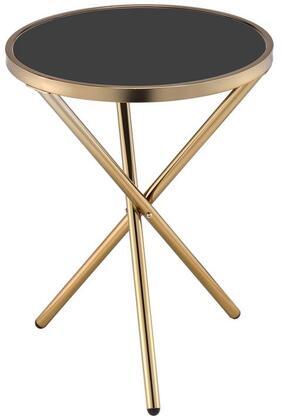 Acme Furniture Lajita 81815 End Table Gold, 1