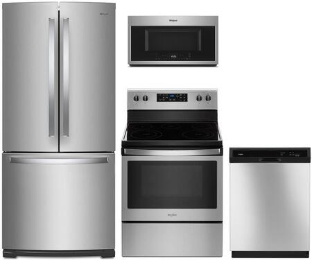 Whirlpool 1127385 Kitchen Appliance Package & Bundle Stainless Steel, main image