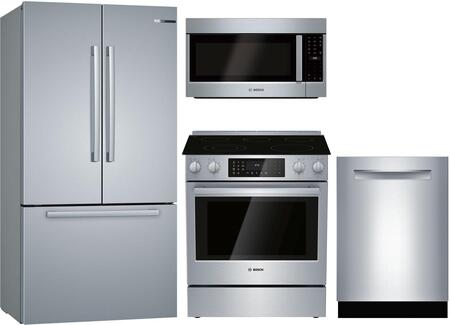 Bosch  1135441 Kitchen Appliance Package Stainless Steel, main image