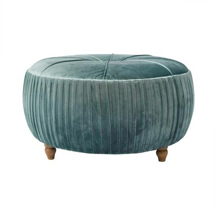New Pacific Direct Helena 1600007185 Living Room Ottoman Green, Main IMage