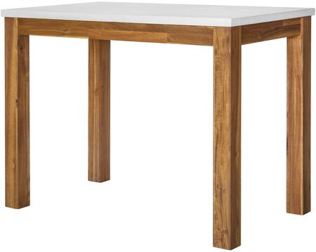 New Pacific Direct Toledo 8000031 Dining Room Table Brown, main image