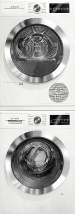 Bosch 800 Series 538899 Washer & Dryer Set White, 1