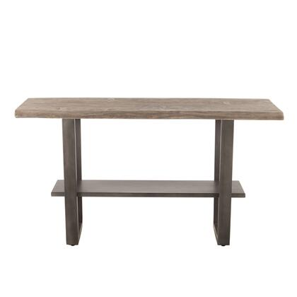 New Orleans Collection ZWSBGT66WGGF Gathering Table in Weathered Grey