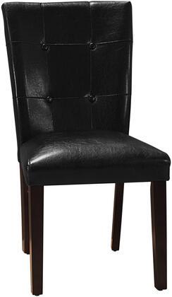 Myco Furniture Crescent CR4274SBLK Dining Room Chair Black, 1