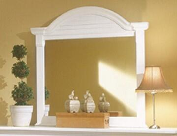 American Woodcrafters Cottage Traditions 6510032 Mirror White, Main Image