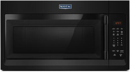 Maytag  MMV1174FB Over The Range Microwave Black, MMV1174FB Front View