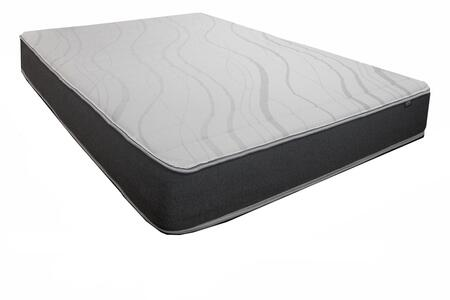 Chiro Bracer Supreme 5623-T 9.5″H Twin Size Mattress with Tencel Fabric  Hypersoft Channel Quilt and High Density Comfort