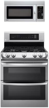 LG  1311170 Kitchen Appliance Package Stainless Steel, Main image