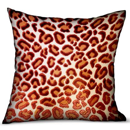Plutus Brands Emberglow Velvet Cheetah PBRA23482424DP Pillow, PBRA2348