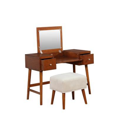 Linon Viola VS058BIR01U Vanity , VS058BIR01U.SL01