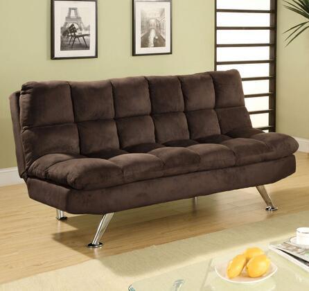 Furniture of America Cocoa Beach CM2905 Futon Brown, Main Image