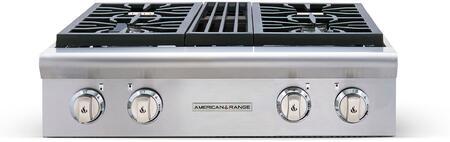 American Range Performer AROBSCT430L Gas Cooktop Stainless Steel, 1