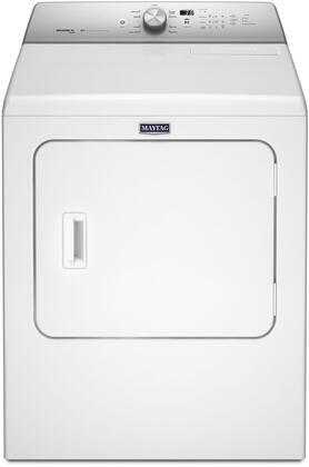 Maytag  MGDB766FW Gas Dryer White, Main Image