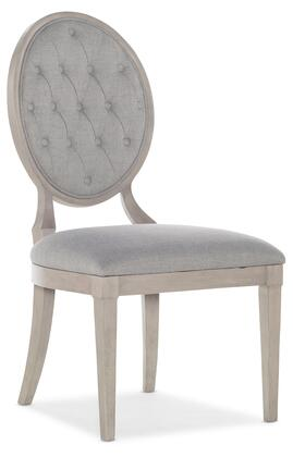 Hooker Furniture Reverie 57957541095 Dining Room Chair Gray, Silo Image