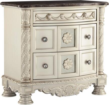 Signature Design by Ashley Cassimore B75093 Nightstand Silver, Main Image