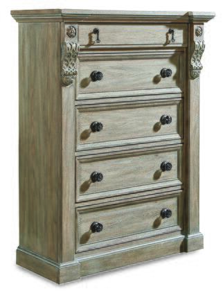 A.R.T. Furniture Arch Salvage 2331502802 Chest of Drawer, DL 5c5f439f1d534bf47786006b011e