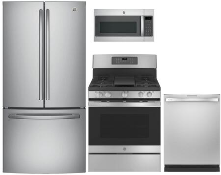 GE 853306 Kitchen Appliance Package & Bundle Stainless Steel, Main image