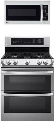 LG  1311169 Kitchen Appliance Package Stainless Steel, Main image