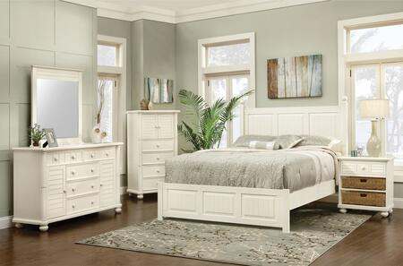 Cottage Creek Furniture Beachfront 5 Piece King Size Bedroom Set