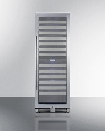 Summit  SWCP2163CSS Wine Cooler 76 Bottles and Above Stainless Steel, Main Image