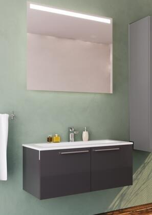 Casa Mare Aspe ASPE100GG40 Sink Vanity Gray, Main Image