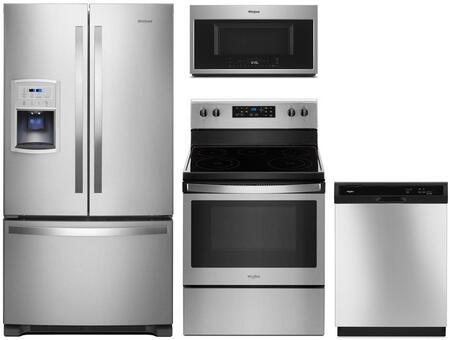 Whirlpool 1127483 Kitchen Appliance Package & Bundle Stainless Steel, main image