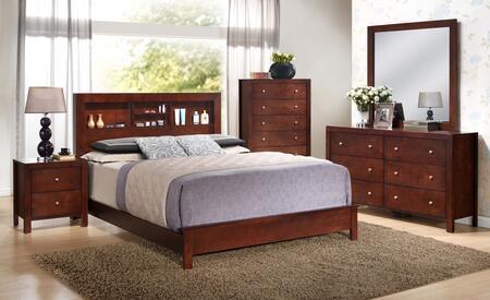 Glory Furniture Burlington G2400BFB2SET Bedroom Set Brown, G2400BFB2SET Bedroom Set
