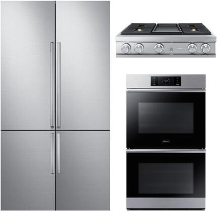 Dacor  1291022 Kitchen Appliance Package Stainless Steel, Main image