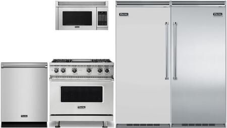 Viking 5 Series 874227 Kitchen Appliance Package & Bundle Stainless Steel, main image