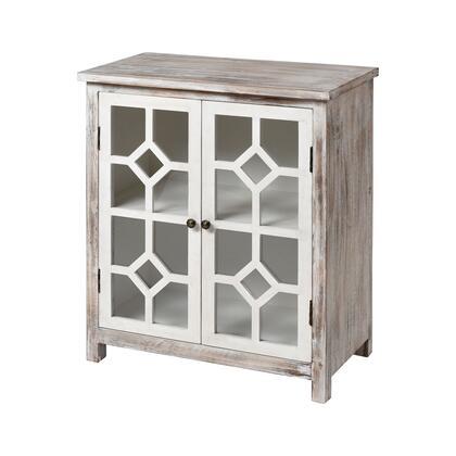 17187 Bracken Cabinet  in Antique White