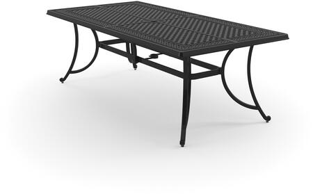 Signature Design by Ashley Burnella P456645 Outdoor Patio Table Brown, Main Image