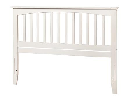 Atlantic Furniture Mission AR287842 Headboard White, AR287842 SILO F 180