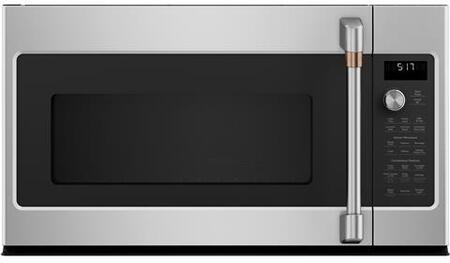 Cafe Matte Collection CVM517P2MS1 Over The Range Microwave Stainless steel, CVM517P2MS1 Main Image
