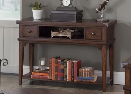 Liberty Furniture Aspen Skies 316OT1030 Sofa Table Brown, Main Image