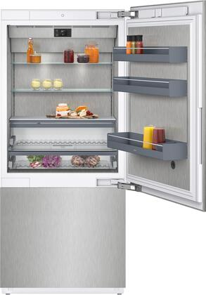 Gaggenau 400 Series RB492704 Bottom Freezer Refrigerator Panel Ready, RB492704 Bottom Freezer Refrigerator