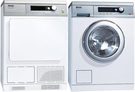Miele Little Giants 732171 Washer & Dryer Set White, 1
