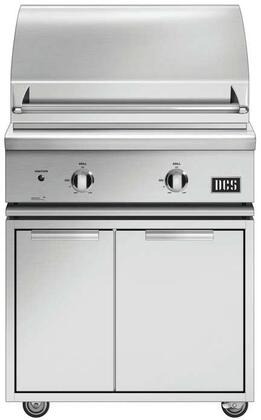 DCS 7 Series 848137 Liquid Propane Grill Stainless Steel, 1