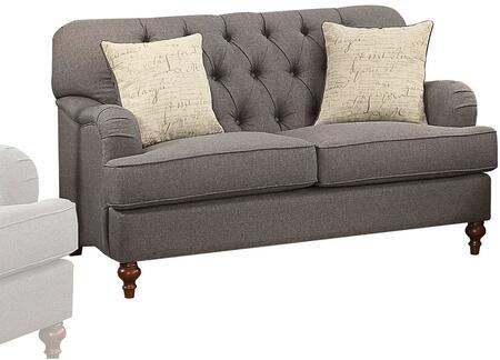 Acme Furniture Alianza 53691 Loveseat Gray, 1