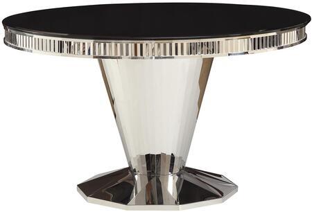 Coaster Barzini 105061 Dining Room Table Black, Main Image