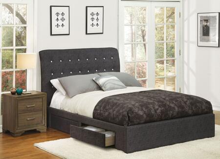 Acme Furniture Drorit 25680QN Bedroom Set Gray, 2 PC Set