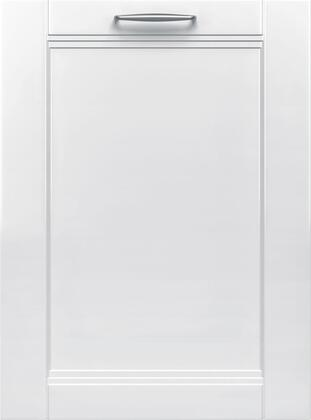 Bosch 800 Series SHV878ZD3N Built-In Dishwasher Panel Ready,  Front View